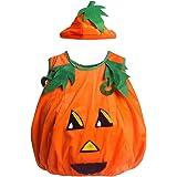 Los niños traje de calabaza naranja SS-NGY01