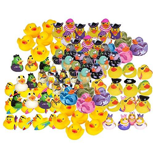 Rhode Island Novelty - Rubber Ducks - MIXED LOT (100 Dozen - 1200 Assorted Ducks) by Rubber Ducks
