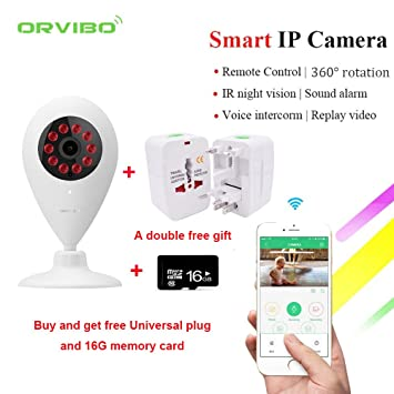 Orvibo Smart Home seguridad IP cámara Wireless WIFI pared ...