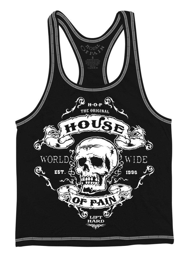 House of Pain HOP Worldwide Stringer Tank - Black - Small