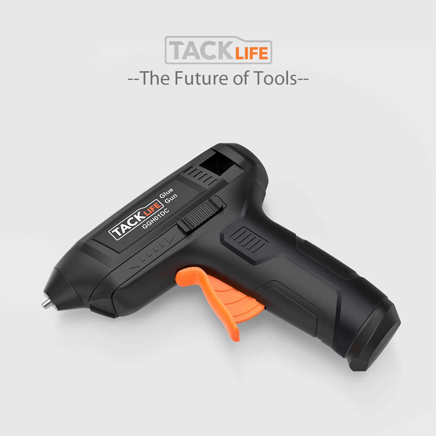 Hot Glue Gun Cordless with 50pcs Glue Sticks, Tacklife 3.6V Rechargeable Melting Glue Gun with USB Charging Cable, Seperate On/Off Switch for DIY and Repair Kit - GGH01DC by TACKLIFE (Image #9)