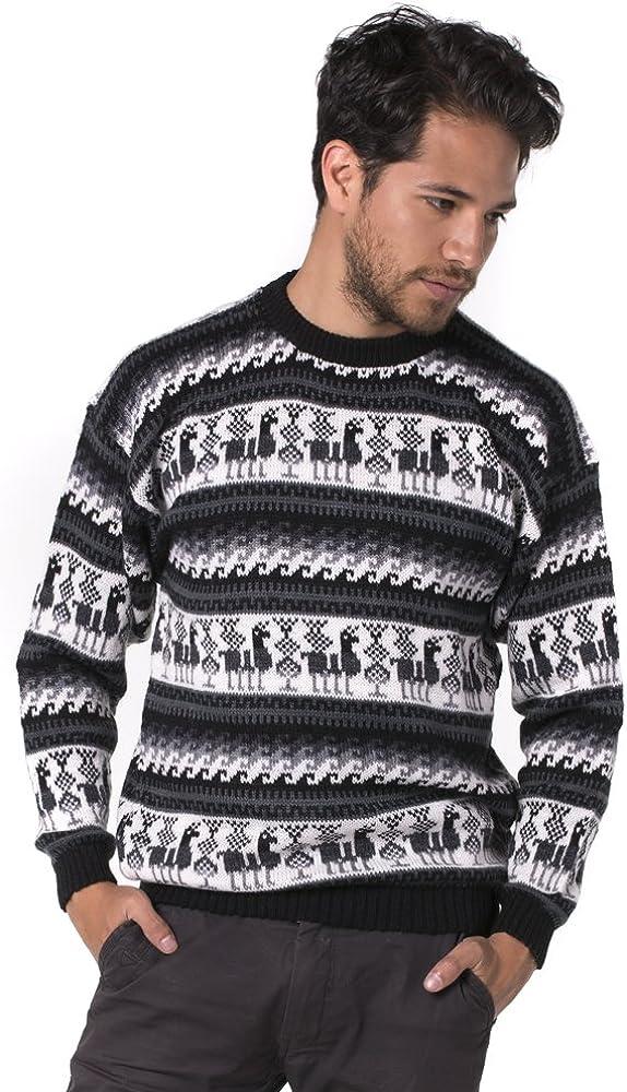 Super special price [Alternative dealer] Gamboa - Alpaca Sweater for Neck Ext Men Crew