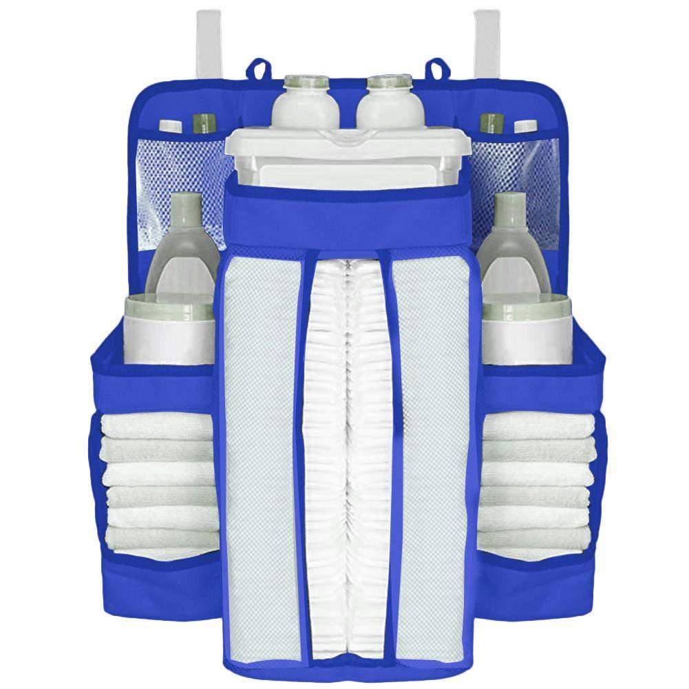 organizaci/ón de pa/ñales de almacenamiento Almacenamiento para art/ículos esenciales para beb/és Bolsa de almacenamiento junto a la cama Organizador de guarder/ía y carrito de pa/ñales para beb/és