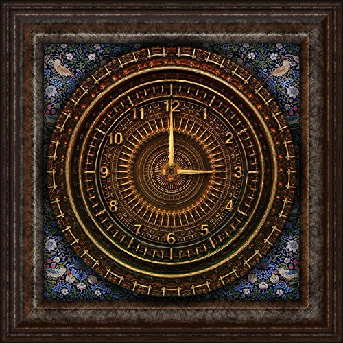 Gifts Delight LAMINATED  Poster: Steampunk Clock Victorian