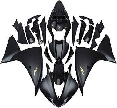 NT FAIRING Glossy Black Injection Mold Fairing Fit for Yamaha 2009 2010 2011 YZF R1 R1000 YZF-R1 New Painted Kit ABS Plastic Motorcycle Bodywork Aftermarket