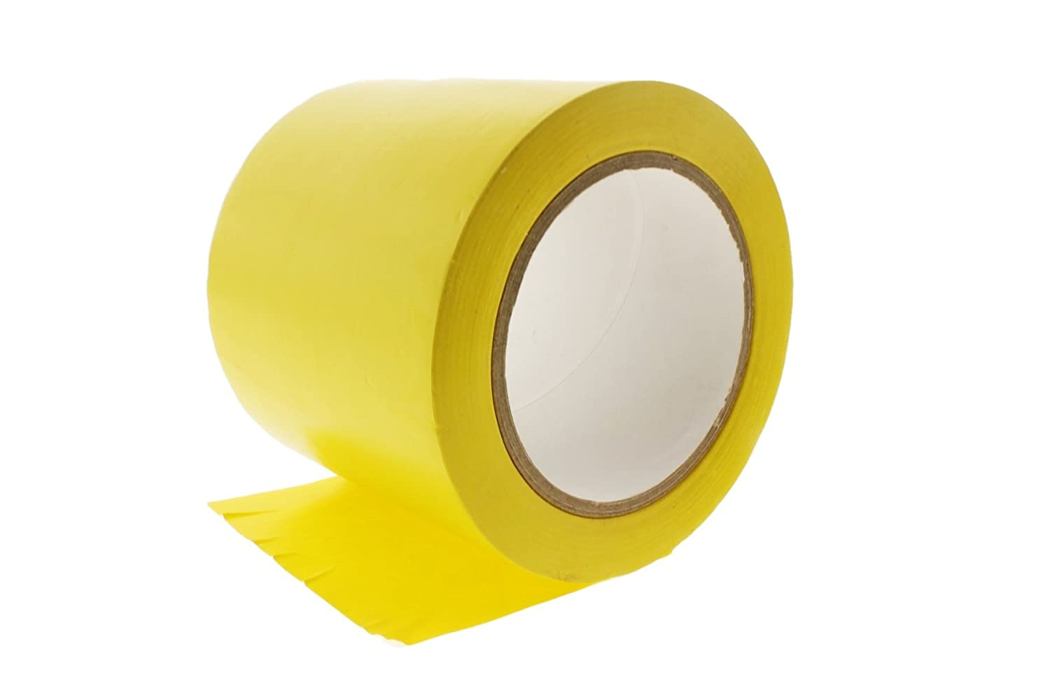 4 General Purpose Yellow Insulated Adhesive PVC Vinyl Sealing Coding Marking Electrical Tape 3.76 in 96MM 36 yard 7 mil
