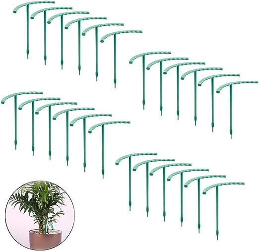 xiaoHannaw Mini estacas para Plantas, Paquete de 12 Unidades de ...