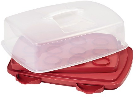 Wilton 3-in-1 Cupcake Caddy - Red : Target