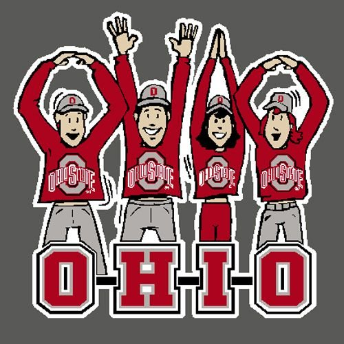 Ohio State Buckeyes Decal - Fans - Full Color