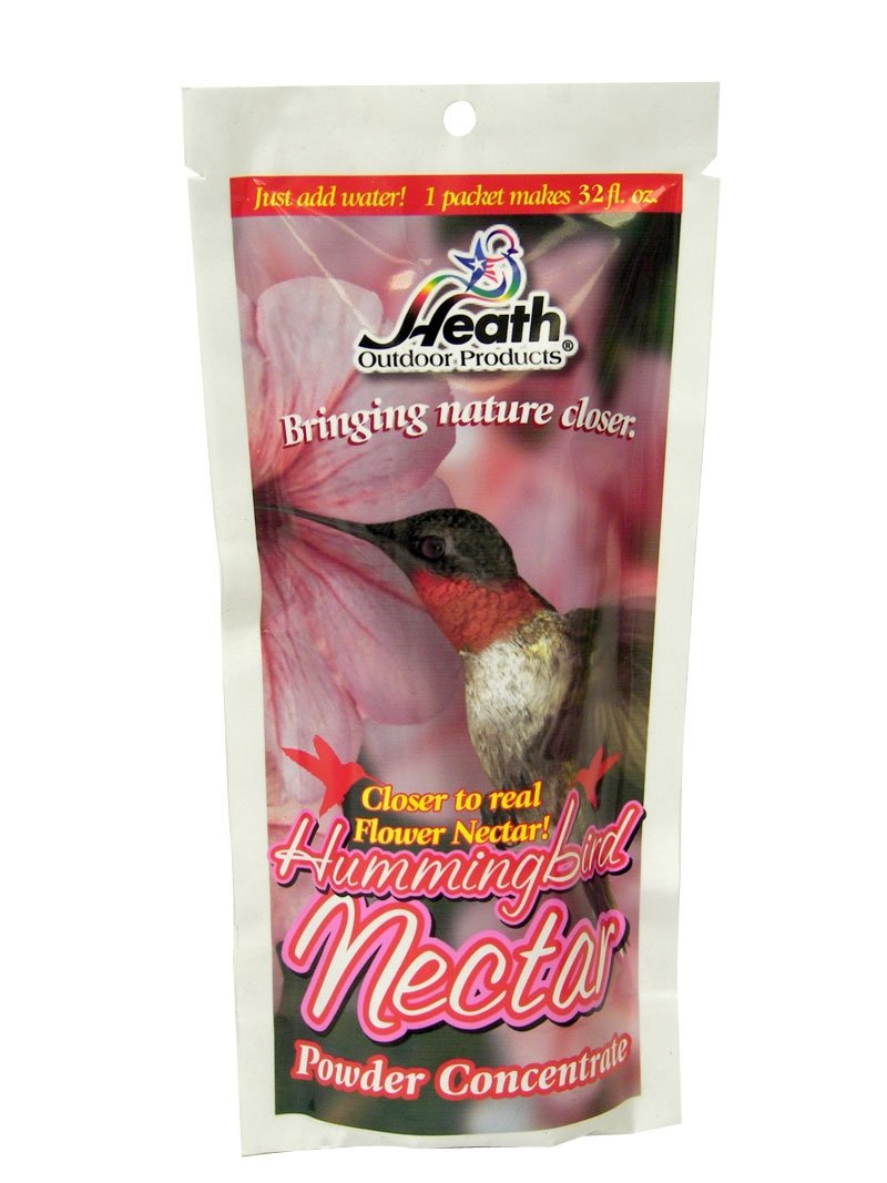 Heath Outdoor Products NECPR-8 8-Ounce Nectar Powder, Red