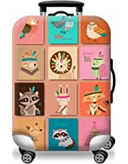 """Valorite Protective Luggage Cover Stretchy Spandex Suitcase Cover Fits 18-30"""" - 34 Different Designs"""