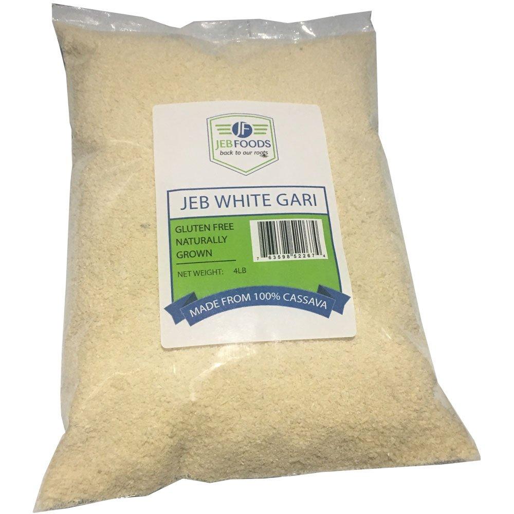 Jeb Alimentos Amarillo y Blanco. Gari, calidad África ...