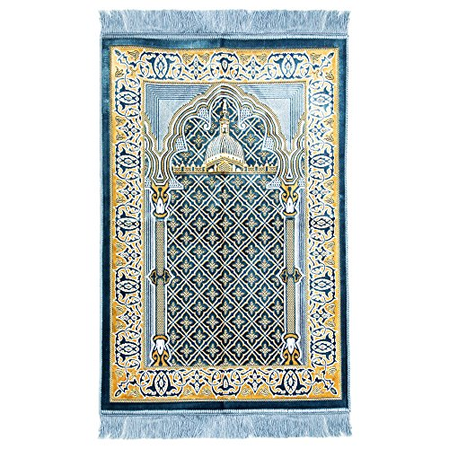 light blue prayer mat - 5