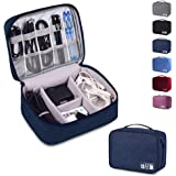 Rubik Electronics Organizer Waterproof Carrying Bag - Travel Gadgets Universal Accessories Storage Case for Charger…