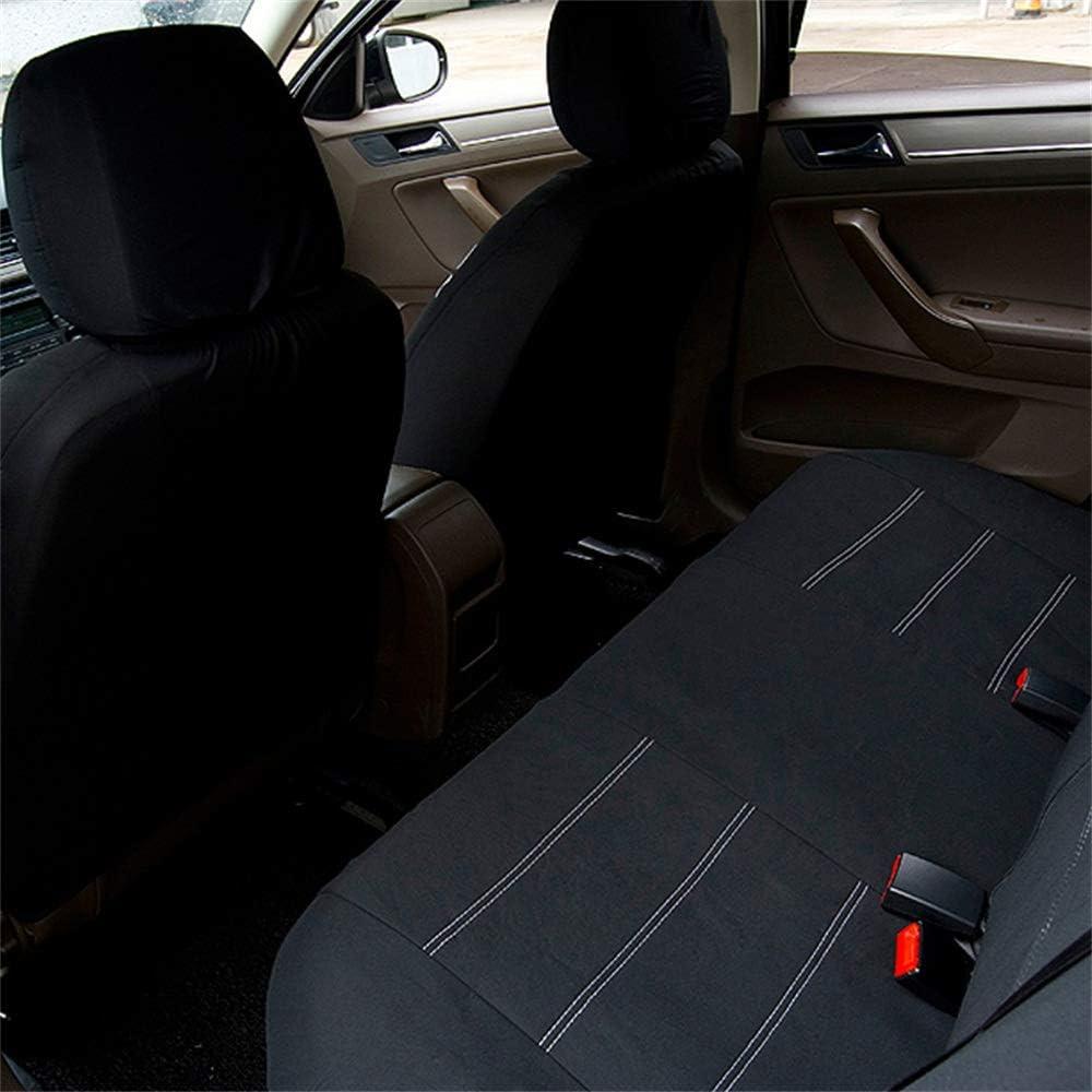 QXCOM Housses de si/ège universelles en Fibre de Lin pour Renault Captur Kaptur Clio 1 2 3 4 poussi/ères Fluence kadjar koleos Laguna 2 3 Latitude Logan 2 sandero stepway Symbole