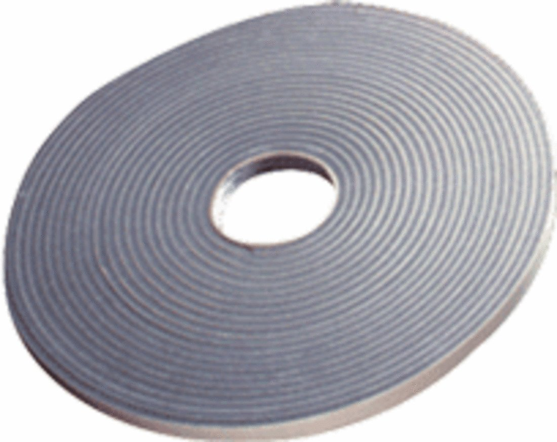 CRL 1/4'' x 1/2'' Gray Double Sided Glazing Tape