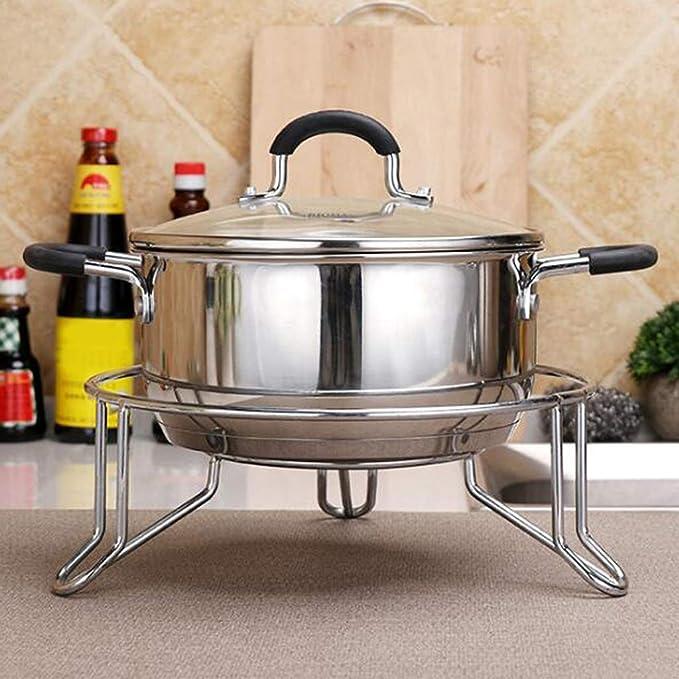 FLAMEER 1 Pieza Estante de Vapor Redonda Experiencia Culinaria Artículos de Cocina Comedor: Amazon.es: Hogar
