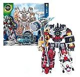 Biklonz Infinity (Ursa+Scorpio+Leo+Taurus+Aries) 5-stage combined robot Action Figure