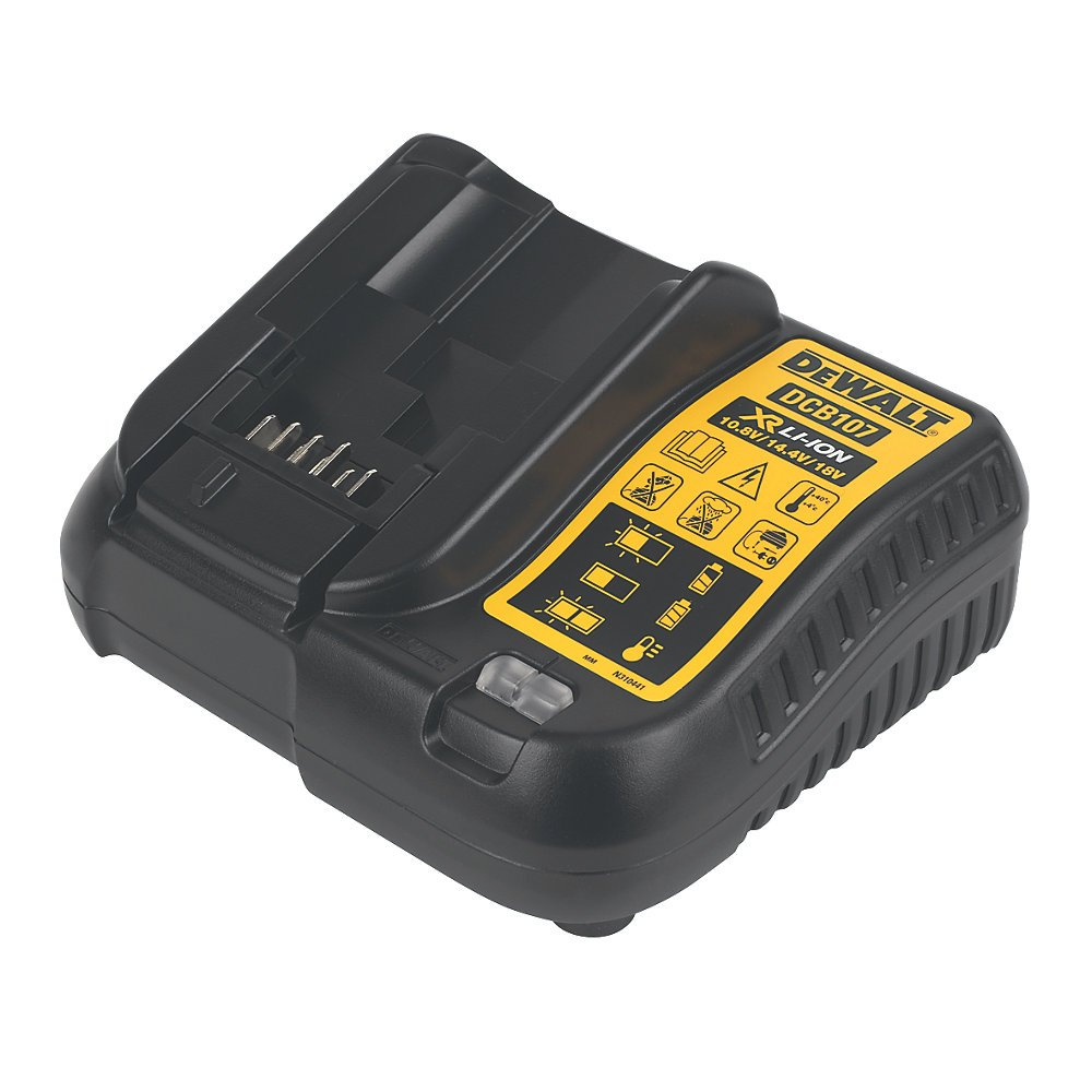 DEWALT DCZ298S2T-GB 18V 1.5AH LI-ION CORDLESS COMBI DRILL /& IMPACT DRIVER TWIN PACK High Quality And Easy To Use