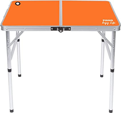 Portable Picnic Table Folding Aluminium Camping Tables Lightweight Outdoor BBQ