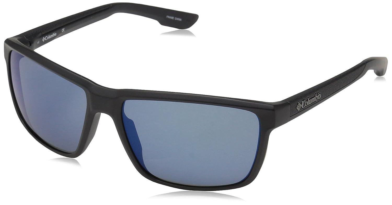 71a259c6e7 Columbia Zonafied - anteojos de sol rectangulares para hombre, Negro mate,  58 mm: Amazon.com.mx: Ropa, Zapatos y Accesorios