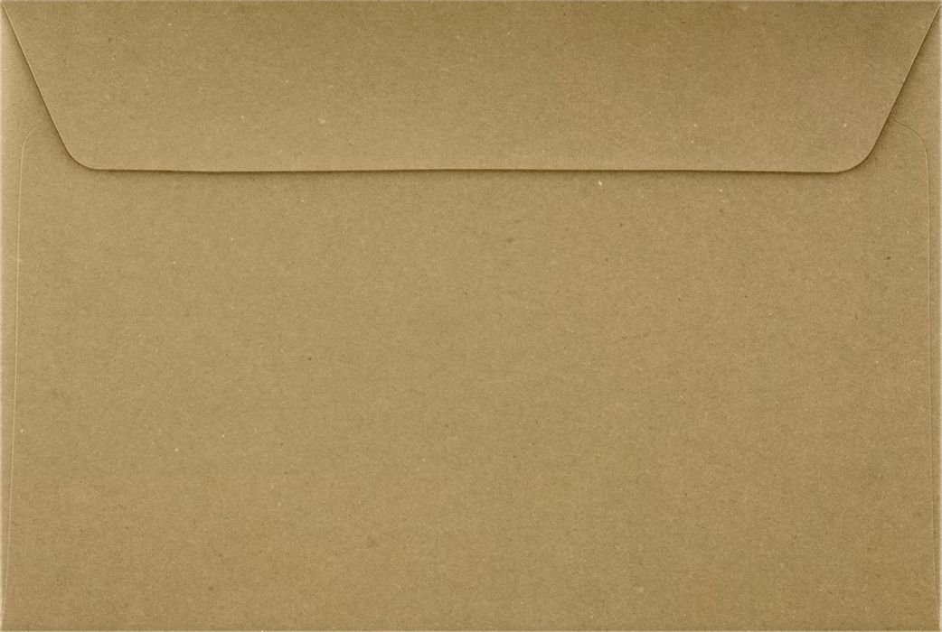 6 x 9 Booklet Envelopes - 100% Recycled - Grocery Bag Brown (500 Qty.) | Perfect for Catalogs, Annual Reports, Brochures, Magazines, Invitations | 70lb Paper | 4820-GB-500 Envelopes.com