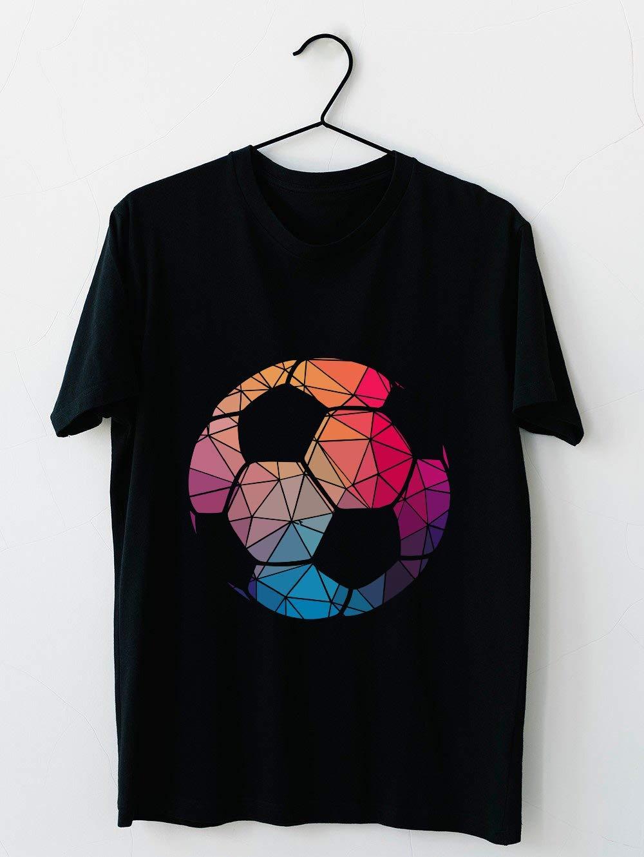 Geometric Cool Soccer Shape Gift T Shirt 7 T Shirt For Unisex