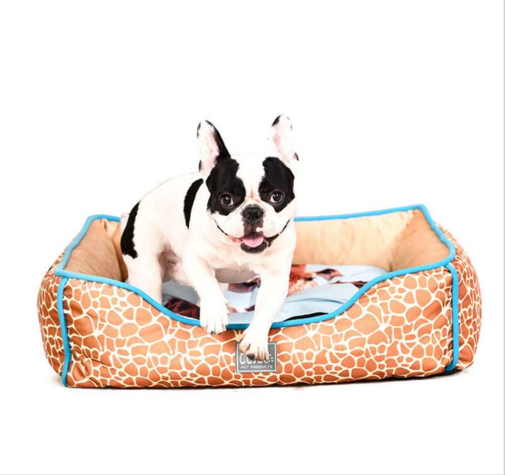 A 61X48X18CM A 61X48X18CM GZDXHN Dog House Square Nest Four Seasons Universal Washable Winter Kennel Pet Nest X