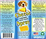 Cheese Flavored Dog Food Spray, 8 oz