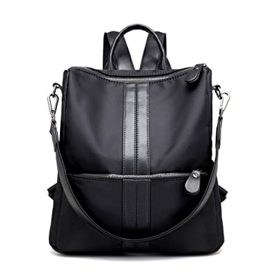 5e354d617ab2 Amazon.com  Artwell Women Backpack Purse Water Resistant Nylon Rucksack  Shoulder Bag Casual Handbag for Lady  Shoes