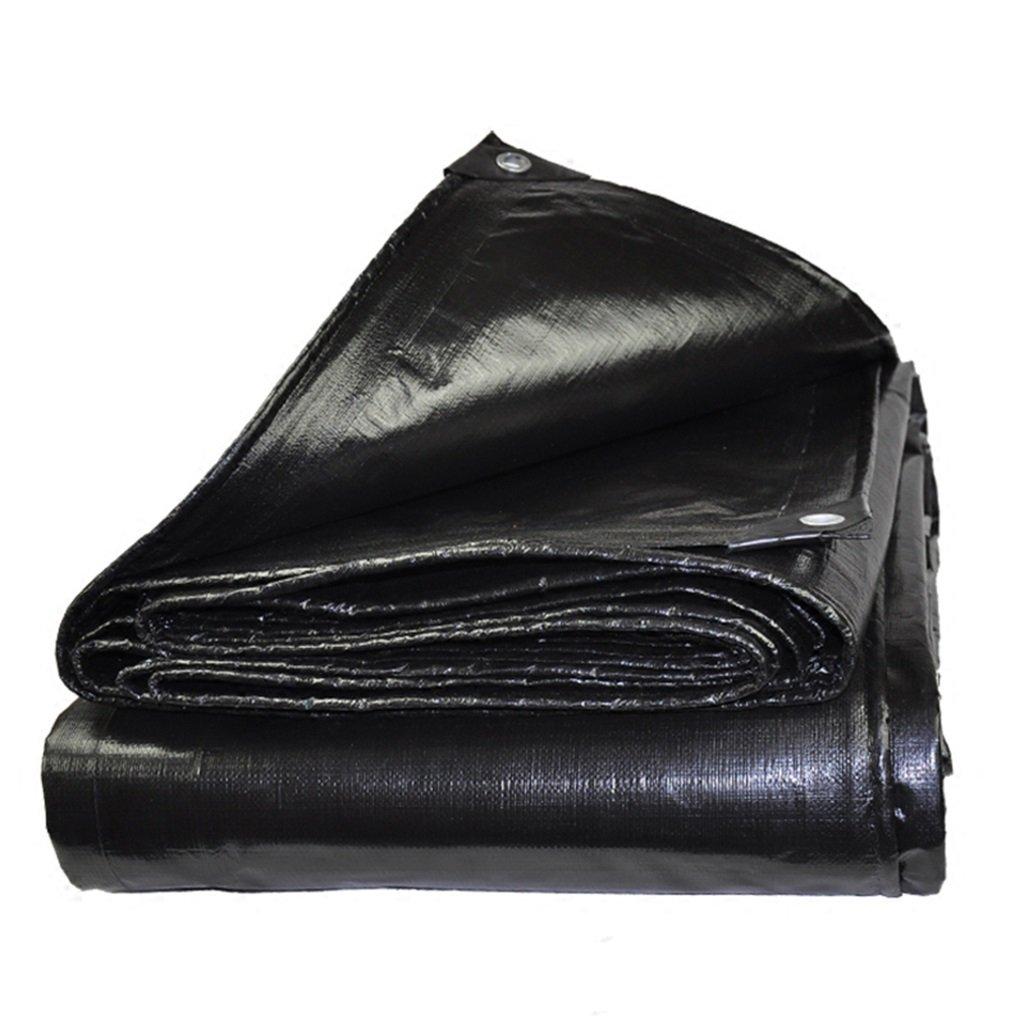 YUJIE BÂche BÂche Imperméable à l'eau en Plastique épaissie BÂche en Tissu à Trois Roues BÂche Camion, épaisseur 0,4 Mm, 180 G   M2, 17 Taille