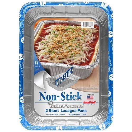 Handi Foil Non Stick Lasagna Pan 2pack