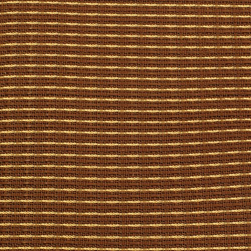 "Tan Grill Cloth (Cabinet Grill Cloth, Oxblood Red and Tan, 34"" Width)"