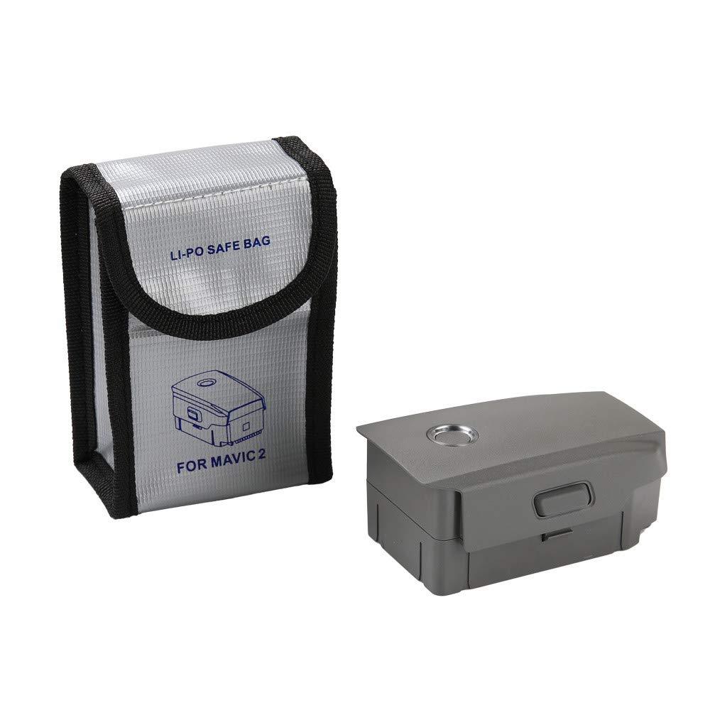 1 Bolsa de Almacenamiento de bater/ía para dji Mavic 2 Pro//Zoom Drone para 1 Pieza // 2 Piezas // 3 Piezas de bater/ía Gbell Accesorios para Drone a Prueba de explosiones
