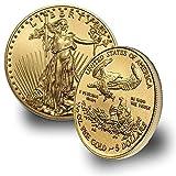 2020 1/10 oz Gold American Eagle (w/Box & COA) By