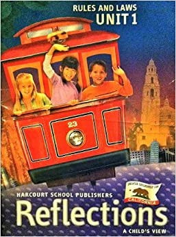 Harcourt School Publishers Reflections California: Unit Soft Big Book Level 1 Rules Laws
