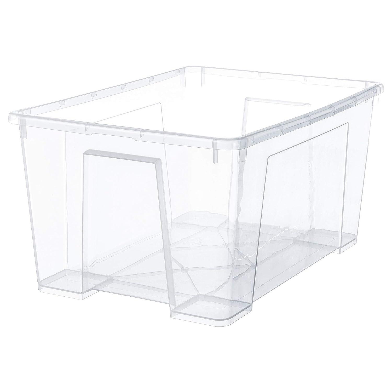 Amazon.com: IKEA.. 301.029.74 Samla Box, Clear: Home & Kitchen