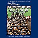 Gerry Faust's Tales from the Notre Dame Sideline Audiobook by Gerry Faust, John Heisler, Bob Logan Narrated by Kurt Elfmann