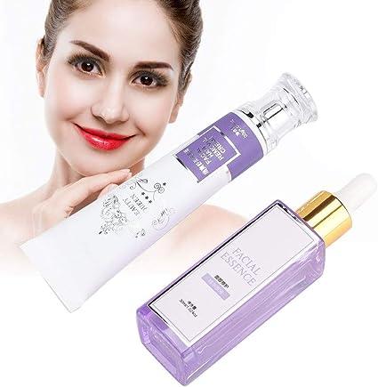 Set de depilación facial, crema depiladora indolora para mujeres ...