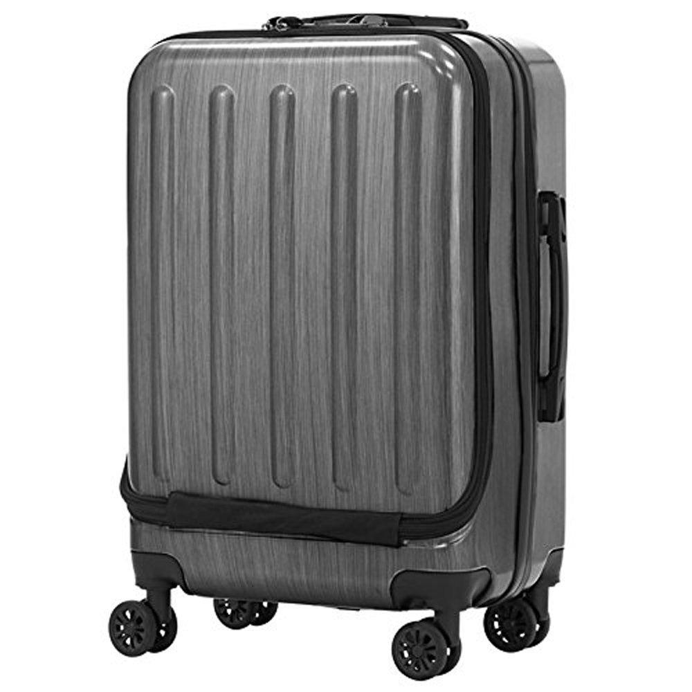 スーツケース | LEGEND WALKER (レジェンドウォーカー) 5403-55 ファスナー/ジッパー (ブラック) B01M74Q9YH