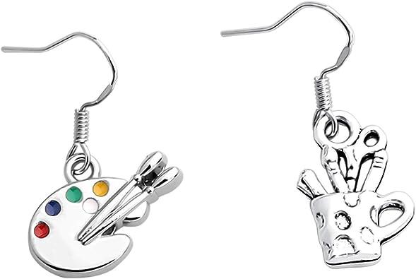 Painter/'s Palette Earrings Jewelry