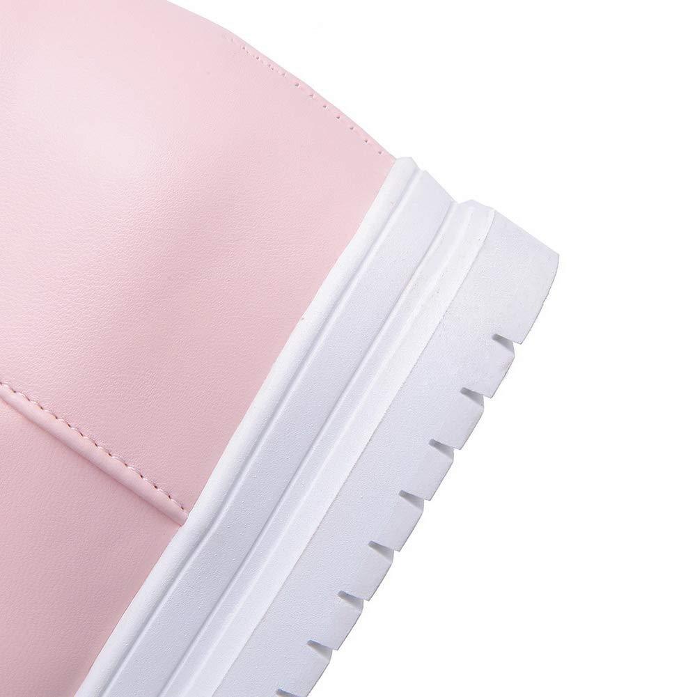 AN Womens Heighten Inside Urethane Boots DKU02324