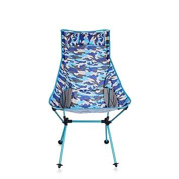 RFVBNM Silla de camping asiento al aire libre camuflaje ...