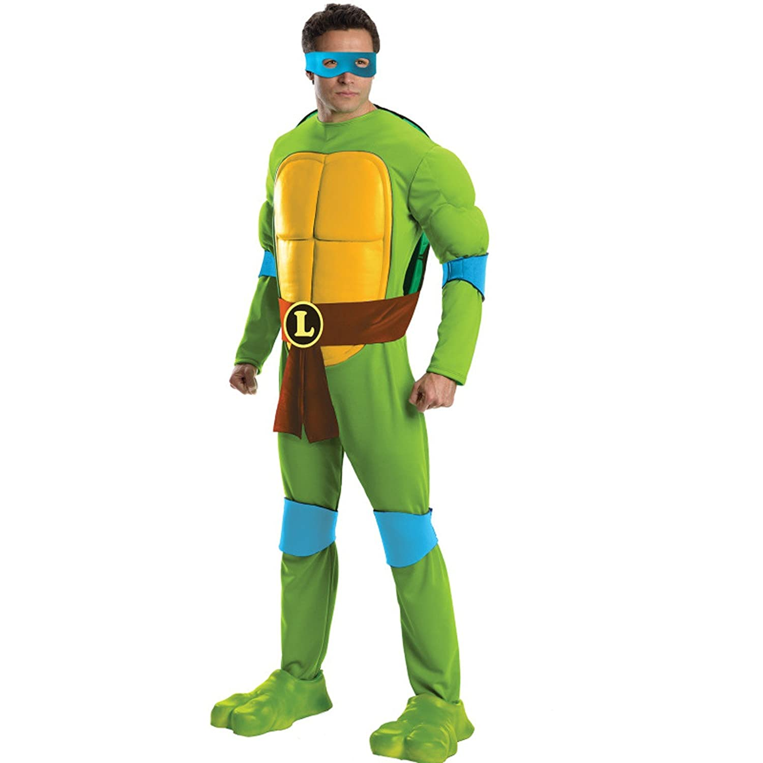 Amazon.com: Disfraz de los hombres Teenage Mutant Ninja ...