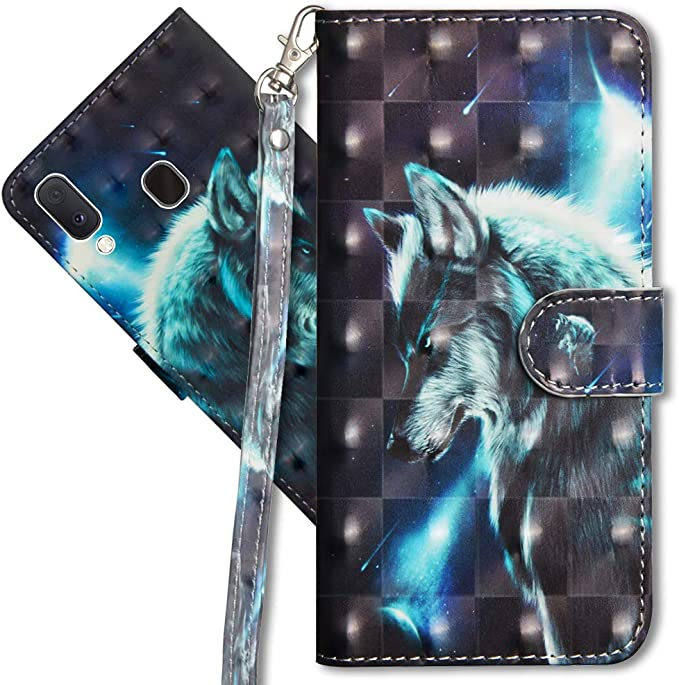 Mrster Samsung A20e Handytasche Leder Schutzhülle Elektronik