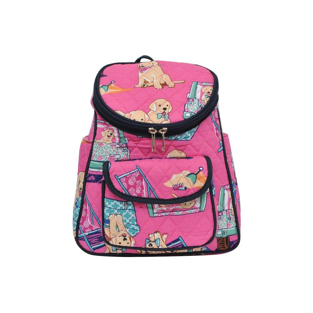 Happy Beach Day NGIL Quilted Mini Backpack