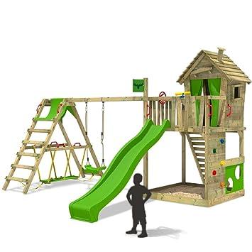 fatmoose torre para happyhome hot xxl casa sobre pilotes casa de rbol con columpio extensin