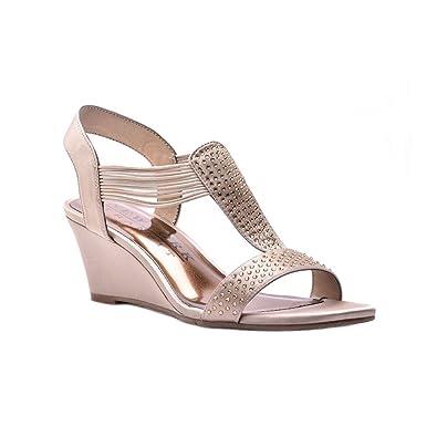 New York Transit Fancy Move ... Women's Wedge Sandals D56fXZ