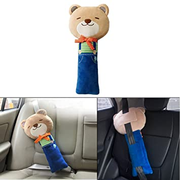 Seat Belt Pillow Car Seat Belt Covers For Kids Plush Toy Pet Seat Best Pillow Pet Seat Belt Cover