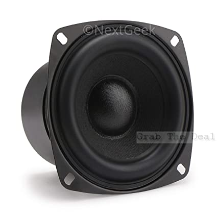 NextGeekTM 4 Inch Subwoofer Speaker 8ohm 80W HiFi Woofer Deep Bass Price Buy Online In